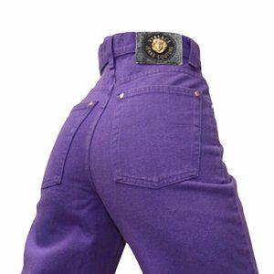 Versace Couture Vintage High Waist Denim Jeans